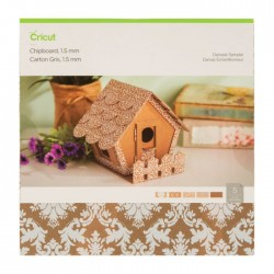 Cricut Chipboard Sampler, Damask - 1.5 mm