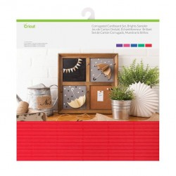 Corrugated Cardboard Sampler-BRIGHT colours