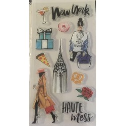 New York Rongrong stamp set