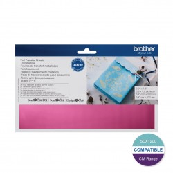 Brother Pink Foil Transfer Sheet