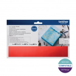 Brother Red Foil Transfer Sheet