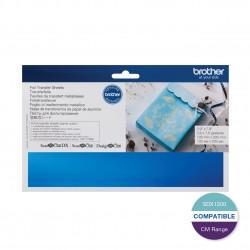 Brother Blue Foil Transfer Sheet