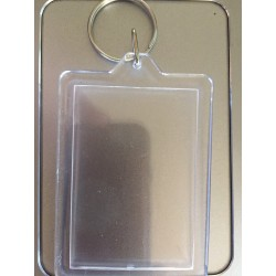 Rectangle Photoframe Keyring