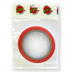 Tape Wormz Red Double Sided High Tack Tape - 12mm x 10m