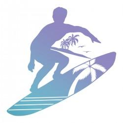 Mini Stamp - Men's Collection - Surfs Up (1pc)