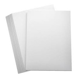 Plain White A4 PRINTABLE Sticker sheets